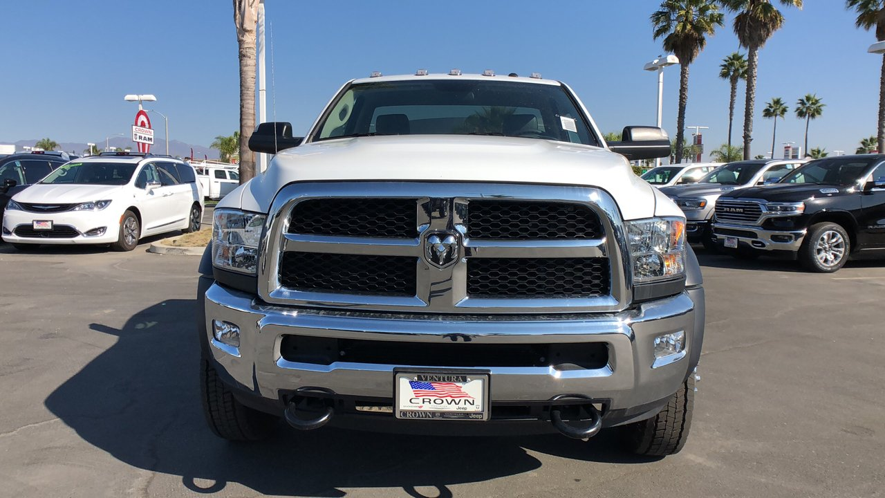 2018 Ram 4500 Regular Cab DRW 4x2,  Cab Chassis #E2893 - photo 3