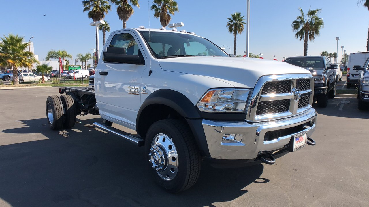 2018 Ram 4500 Regular Cab DRW 4x2,  Cab Chassis #E2893 - photo 5