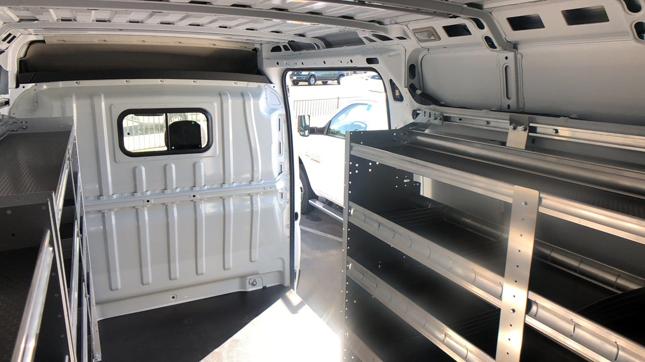 2018 ProMaster 2500 High Roof FWD,  Upfitted Cargo Van #E2902 - photo 2