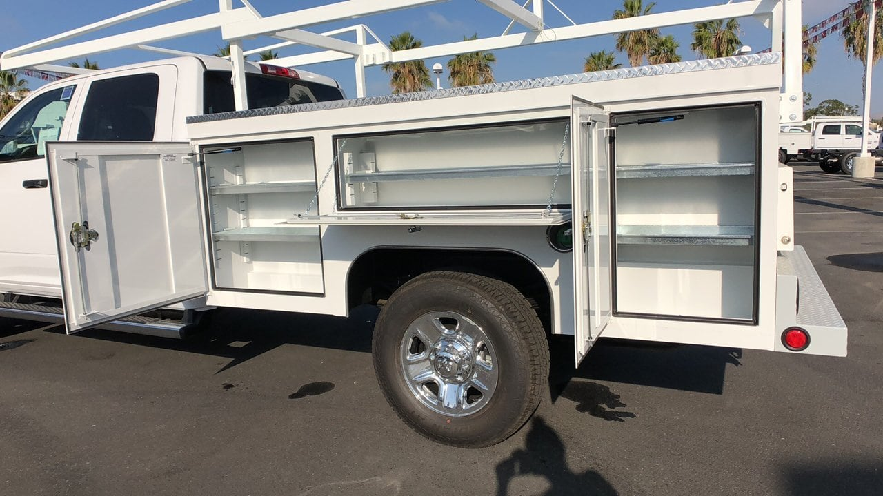 2018 Ram 3500 Crew Cab 4x2,  Scelzi Service Body #E3010 - photo 8