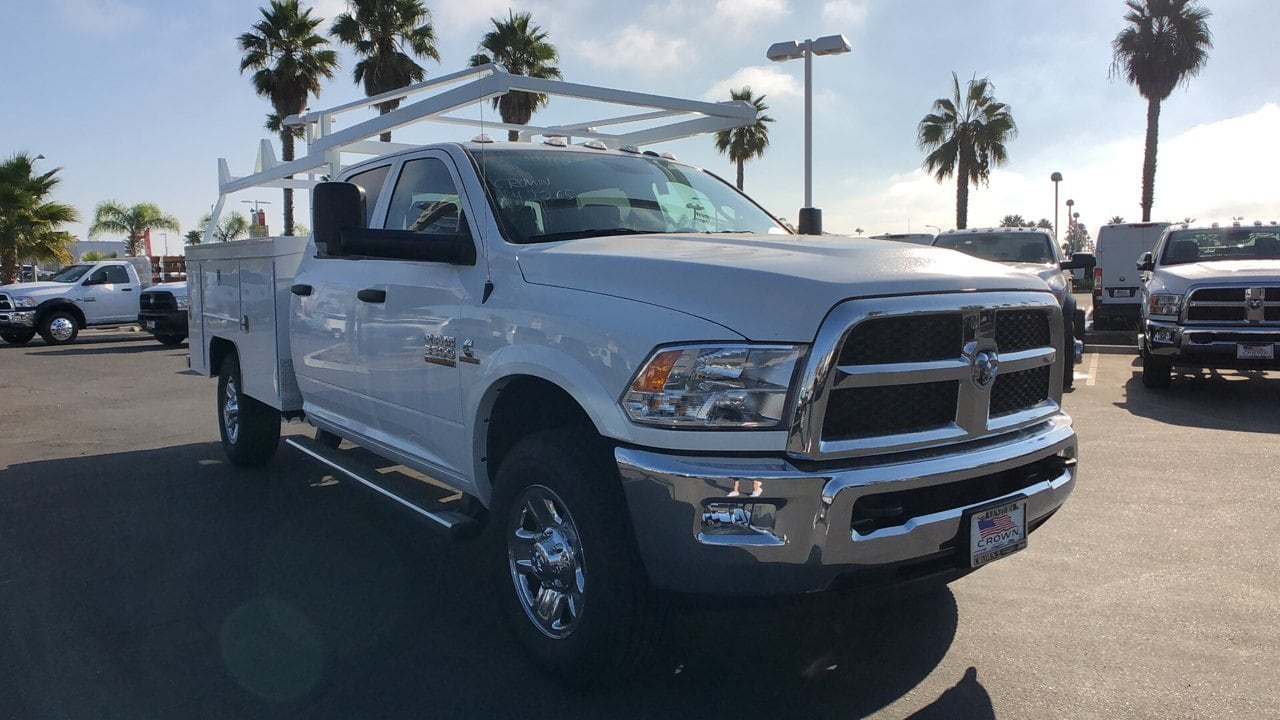 2018 Ram 3500 Crew Cab 4x2,  Scelzi Service Body #E3010 - photo 3