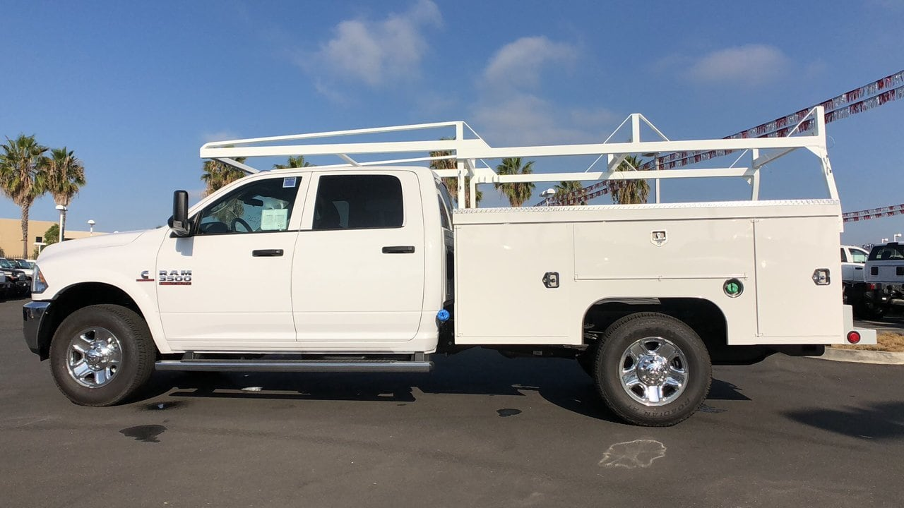 2018 Ram 3500 Crew Cab 4x2,  Scelzi Service Body #E3010 - photo 4