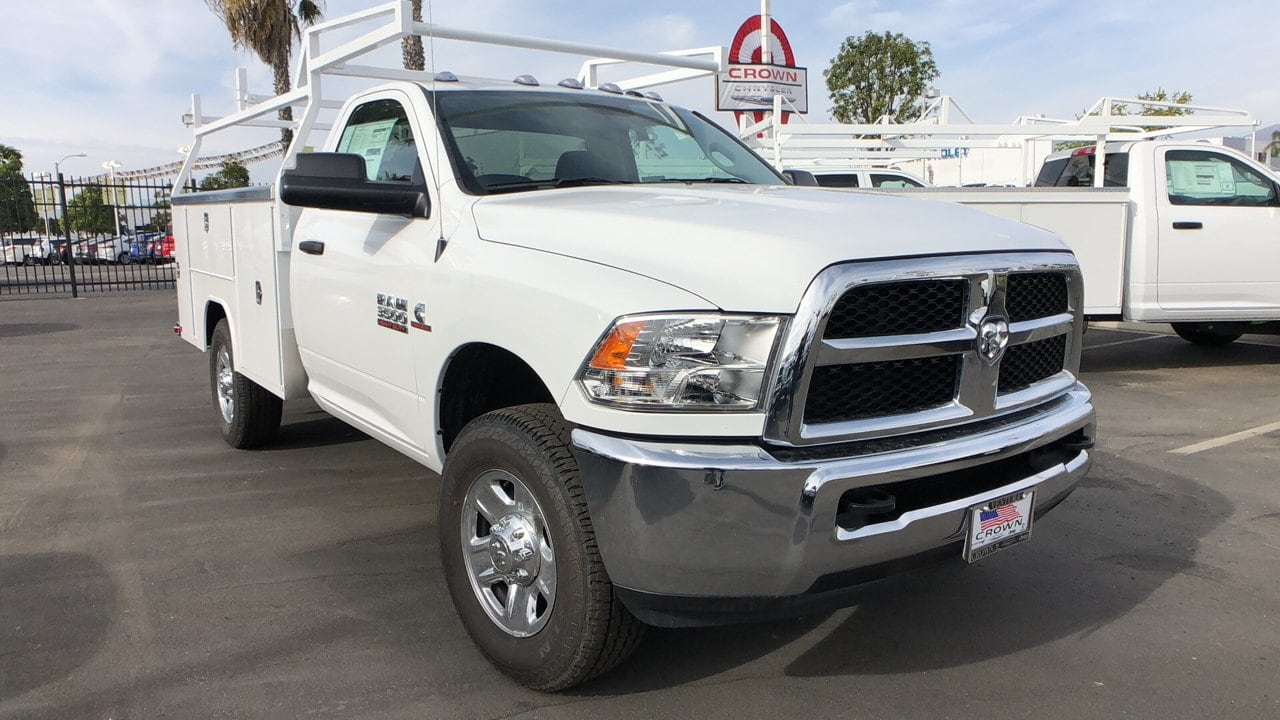 2018 Ram 3500 Regular Cab 4x2,  Harbor Service Body #E3117 - photo 4