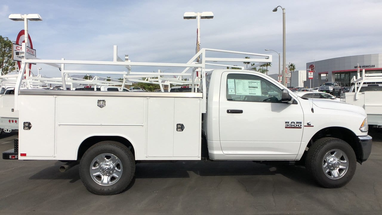 2018 Ram 3500 Regular Cab 4x2,  Harbor Service Body #E3117 - photo 5