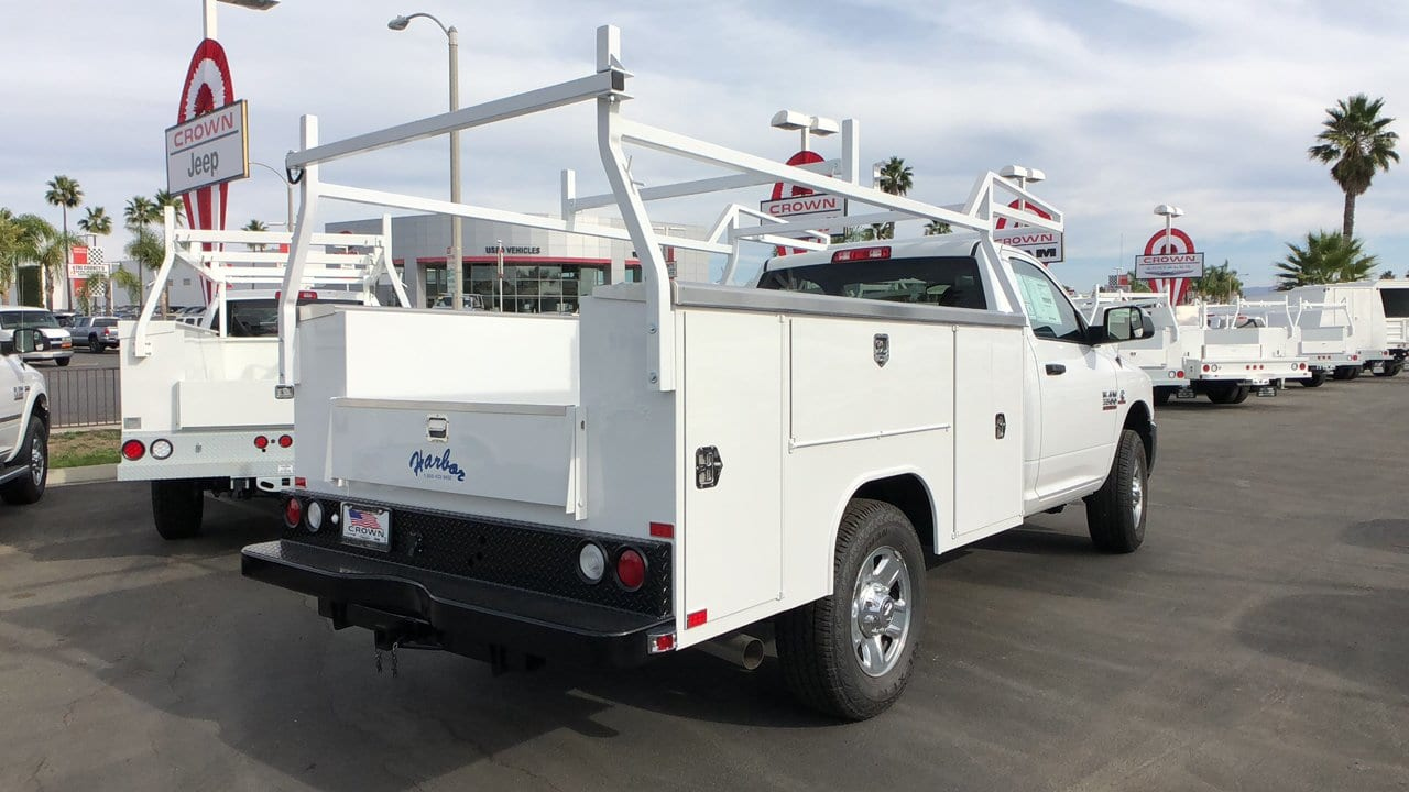 2018 Ram 3500 Regular Cab 4x2,  Harbor Service Body #E3117 - photo 6