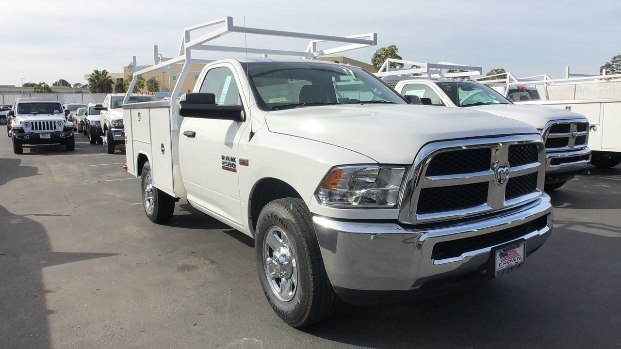2018 Ram 2500 Regular Cab 4x2,  Harbor Service Body #E3157 - photo 4