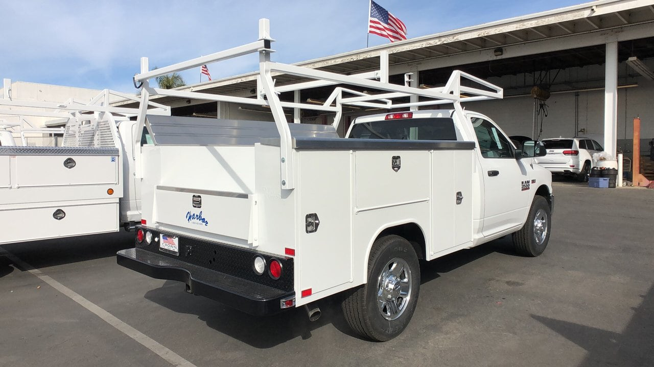 2018 Ram 2500 Regular Cab 4x2,  Harbor Service Body #E3157 - photo 6