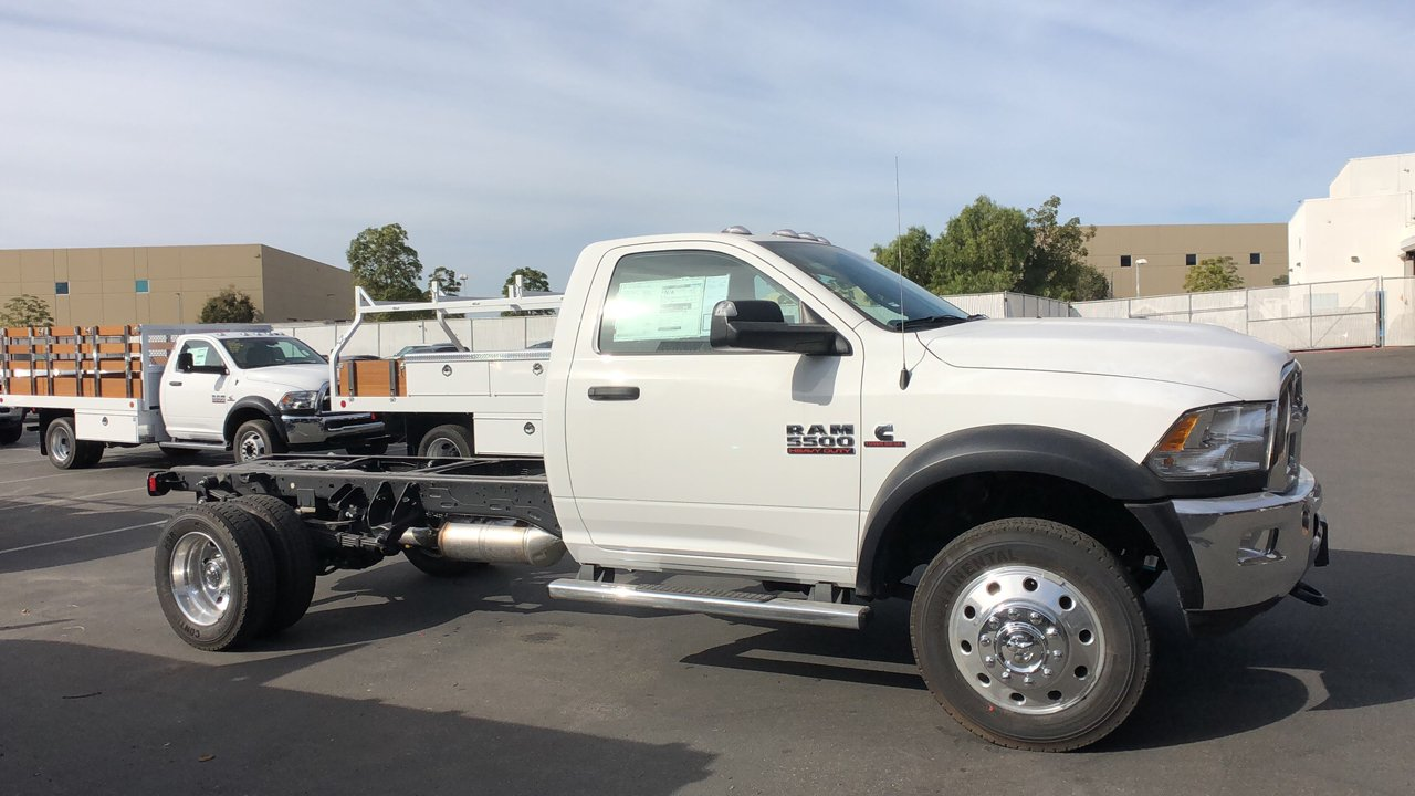 2018 Ram 5500 Regular Cab DRW 4x2,  Scelzi Combo Body #E3159 - photo 5