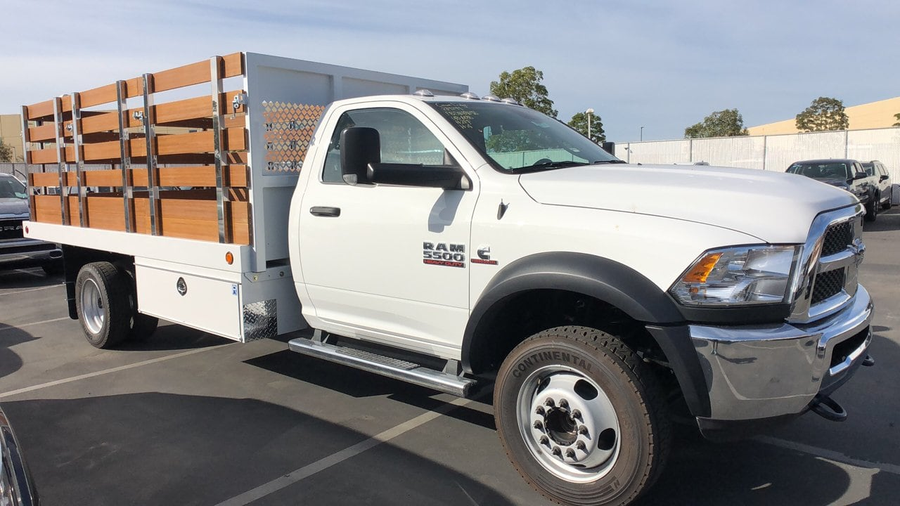 2018 Ram 5500 Regular Cab DRW 4x2,  Royal Stake Bed #E3162 - photo 6