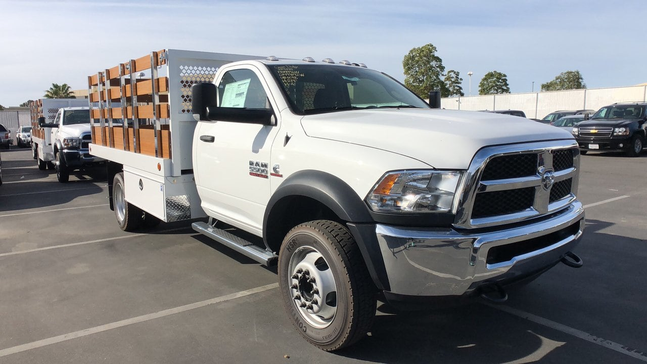 2018 Ram 5500 Regular Cab DRW 4x2,  Royal Stake Bed #E3163 - photo 5