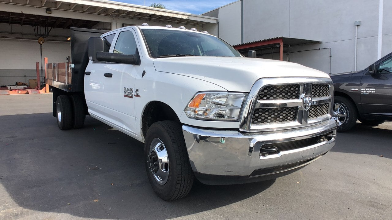 2018 Ram 3500 Crew Cab DRW 4x2,  Harbor Platform Body #E3165 - photo 4