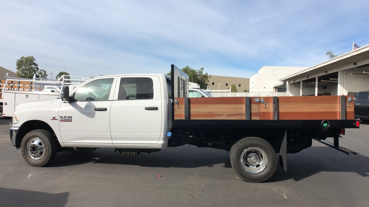 2018 Ram 3500 Crew Cab DRW 4x2,  Harbor Platform Body #E3165 - photo 9
