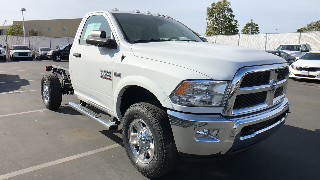 2018 Ram 3500 Regular Cab 4x2,  Cab Chassis #E3166 - photo 5