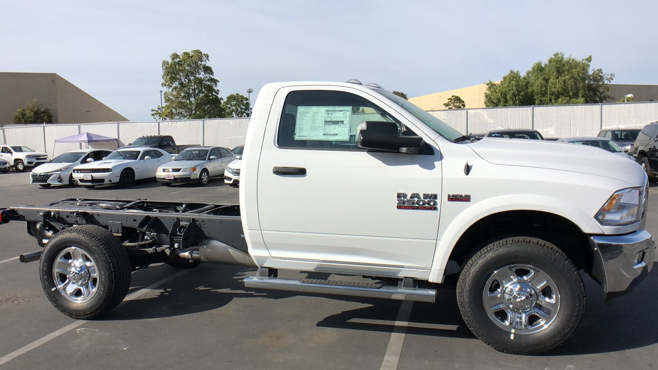 2018 Ram 3500 Regular Cab 4x2,  Cab Chassis #E3166 - photo 6