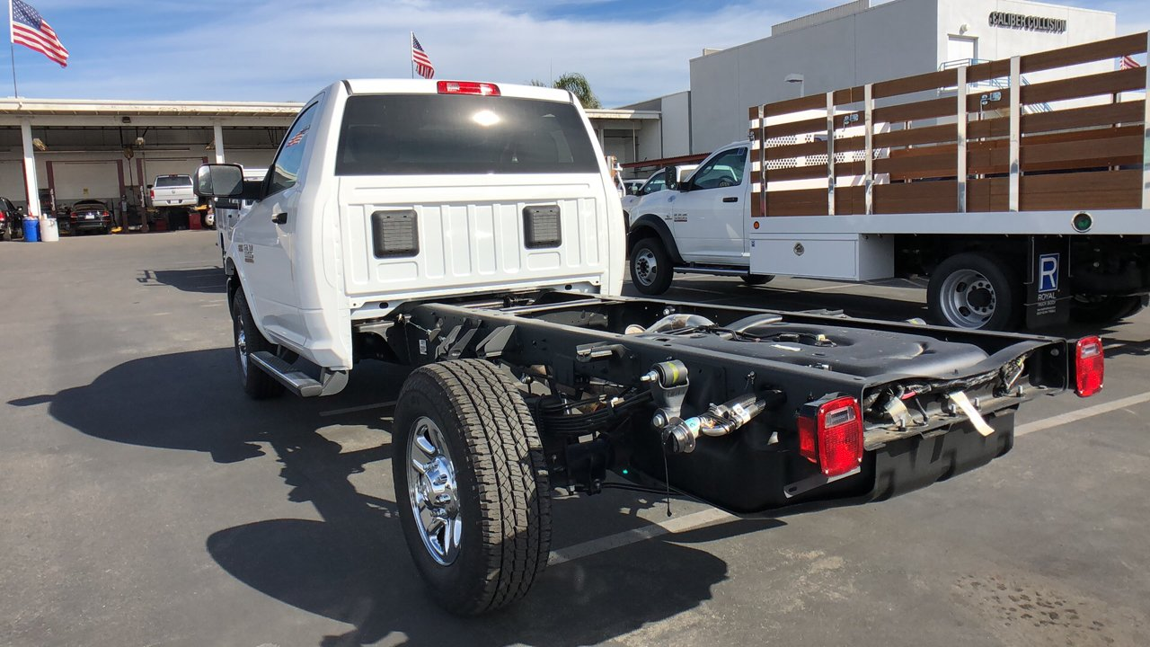 2018 Ram 3500 Regular Cab 4x2,  Cab Chassis #E3166 - photo 2
