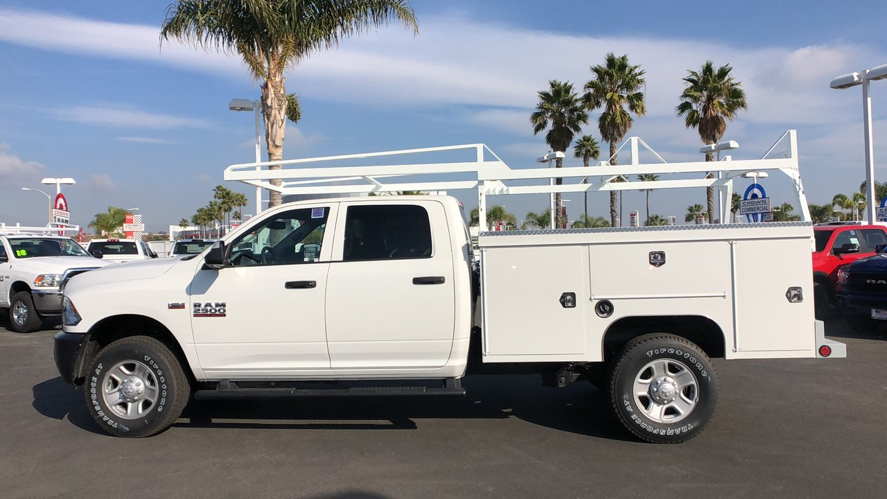 2018 Ram 2500 Crew Cab 4x4,  Scelzi Service Body #E3174 - photo 8