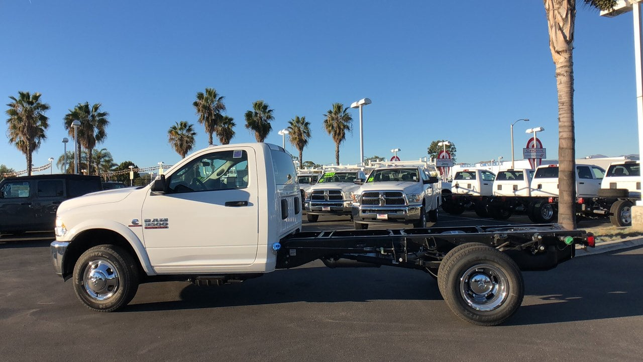 2018 Ram 3500 Regular Cab DRW 4x4,  Cab Chassis #E3179 - photo 8