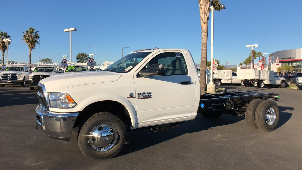 2018 Ram 3500 Regular Cab DRW 4x4,  Cab Chassis #E3179 - photo 10