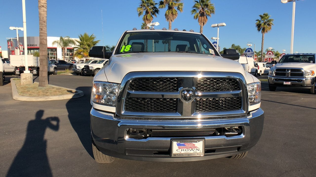 2018 Ram 3500 Regular Cab DRW 4x4,  Cab Chassis #E3179 - photo 2