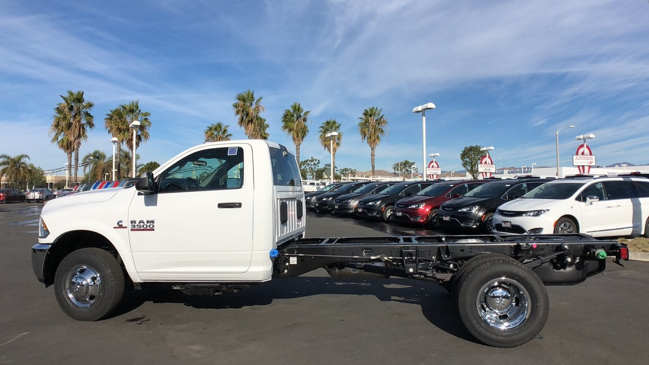 2018 Ram 3500 Regular Cab DRW 4x4,  Cab Chassis #E3187 - photo 10
