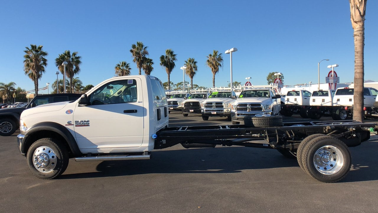 2018 Ram 5500 Regular Cab DRW 4x4,  Cab Chassis #E3193 - photo 10