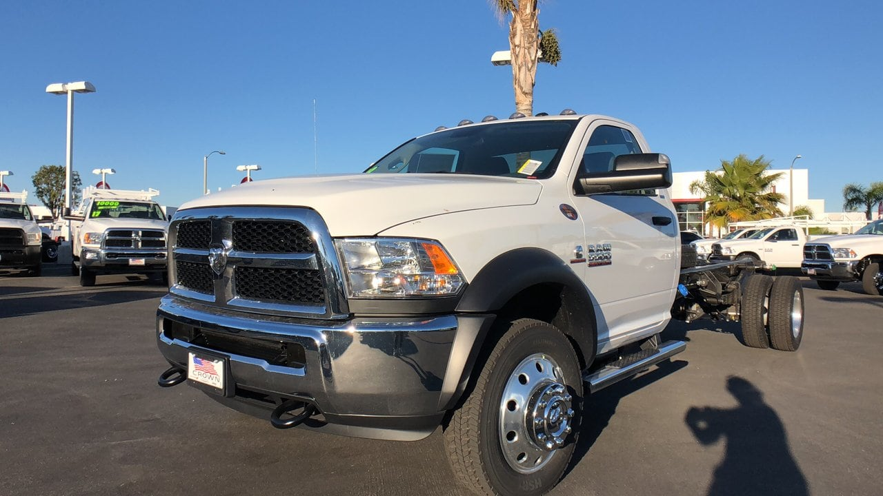 2018 Ram 5500 Regular Cab DRW 4x4,  Cab Chassis #E3193 - photo 1