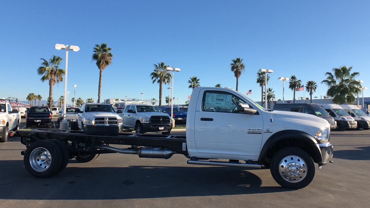 2018 Ram 5500 Regular Cab DRW 4x4,  Cab Chassis #E3193 - photo 5