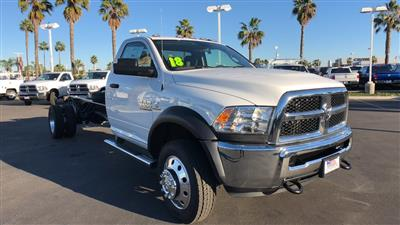 2018 Ram 5500 Regular Cab DRW 4x4,  Cab Chassis #E3193 - photo 4