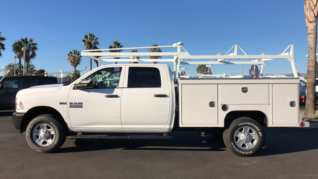 2018 Ram 2500 Crew Cab 4x4,  Scelzi Service Body #E3204 - photo 8