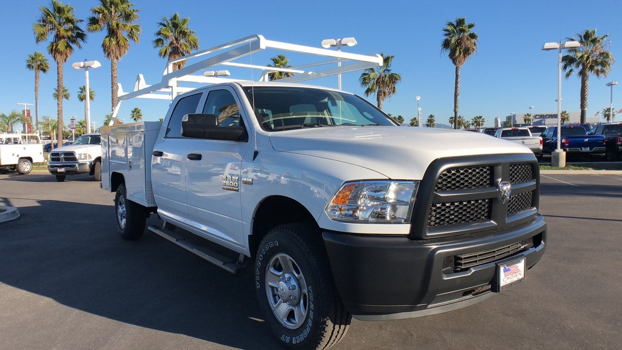 2018 Ram 2500 Crew Cab 4x4,  Scelzi Service Body #E3204 - photo 4