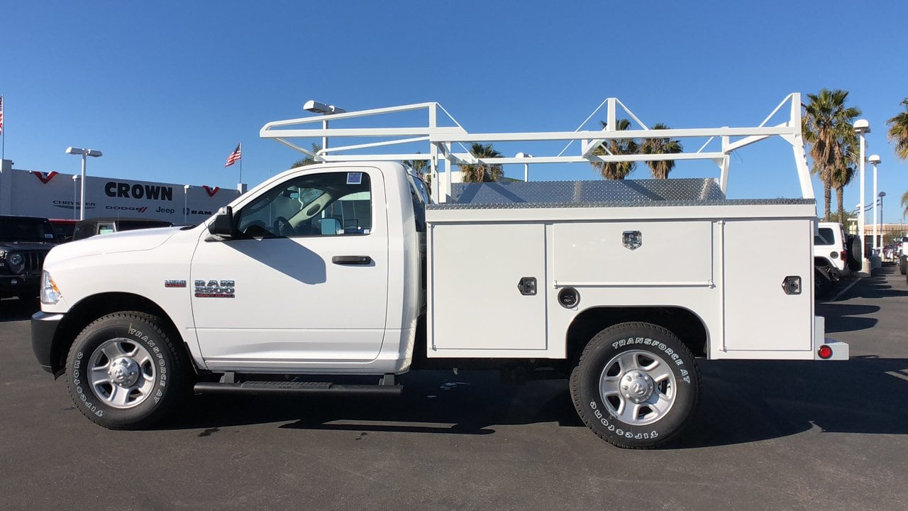 2018 Ram 2500 Regular Cab 4x2,  Scelzi Service Body #E3230 - photo 8