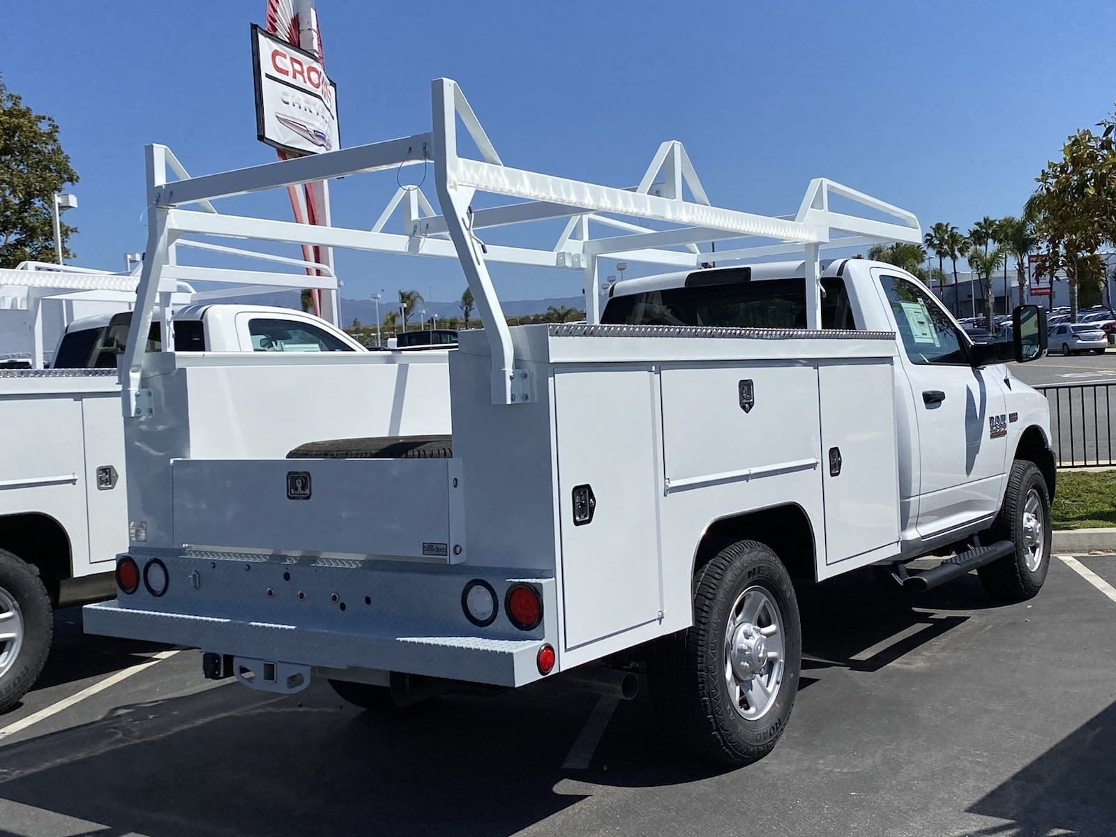 2018 Ram 3500 Regular Cab 4x2, Scelzi Service Body #E3238 - photo 1