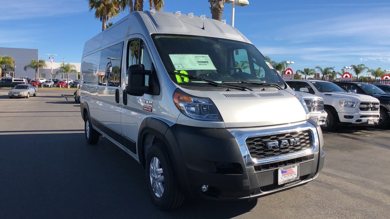 2019 ProMaster 2500 High Roof FWD,  Empty Cargo Van #G1358 - photo 4