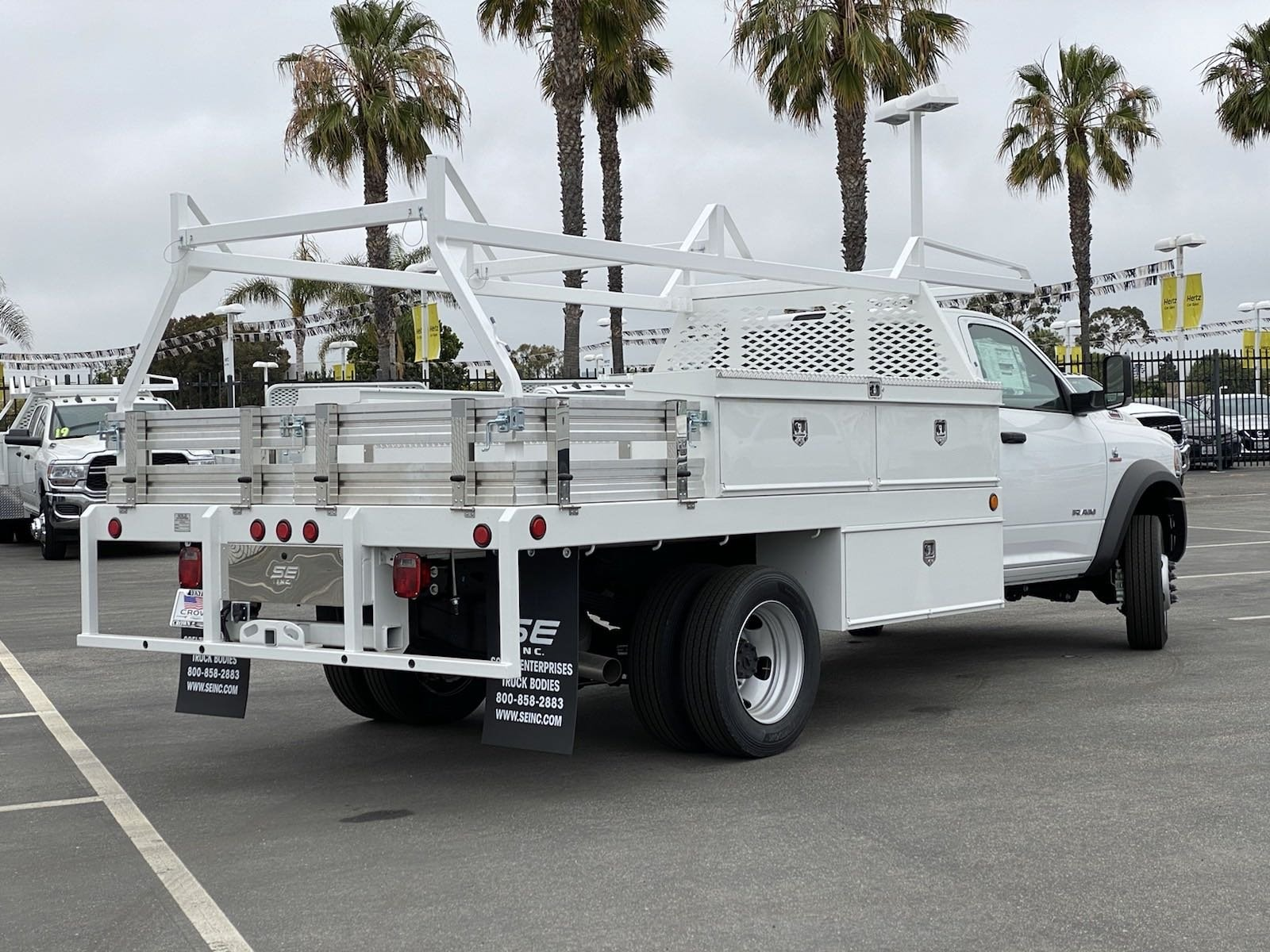 2020 Ram 5500 Regular Cab DRW 4x2, Scelzi Contractor Body #H1851 - photo 1