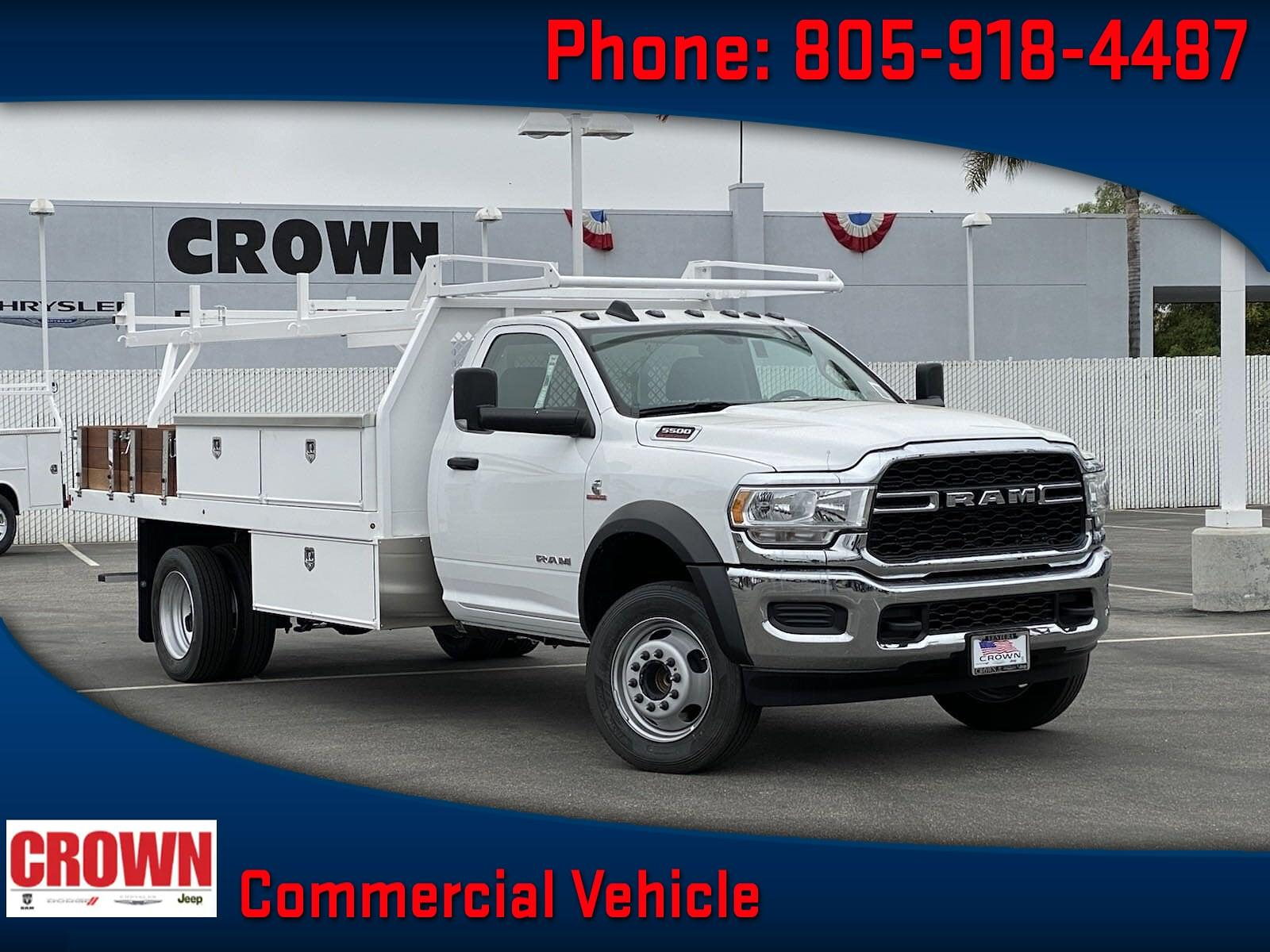 2020 Ram 5500 Regular Cab DRW 4x2, Harbor Contractor Body #H1853 - photo 1