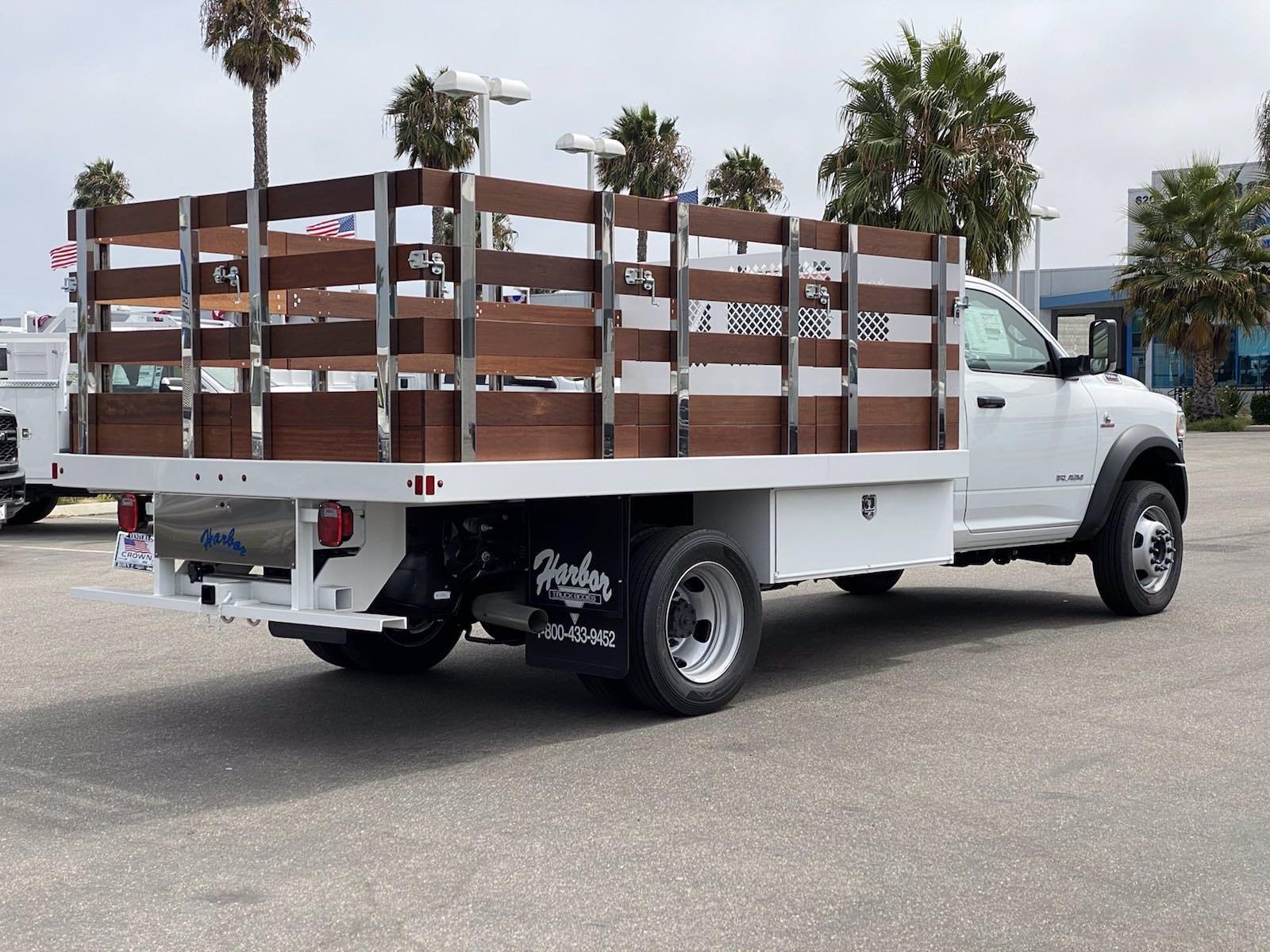 2020 Ram 5500 Regular Cab DRW 4x2, Harbor Stake Bed #H2239 - photo 1