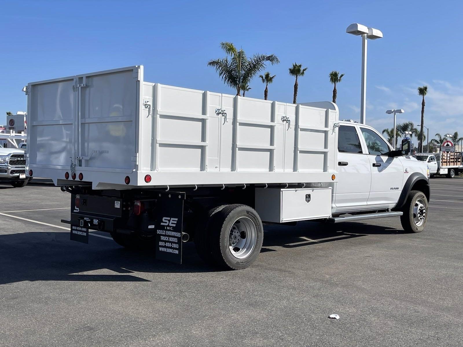 2020 Ram 5500 Crew Cab DRW 4x4, Scelzi Landscape Dump #H2300 - photo 1