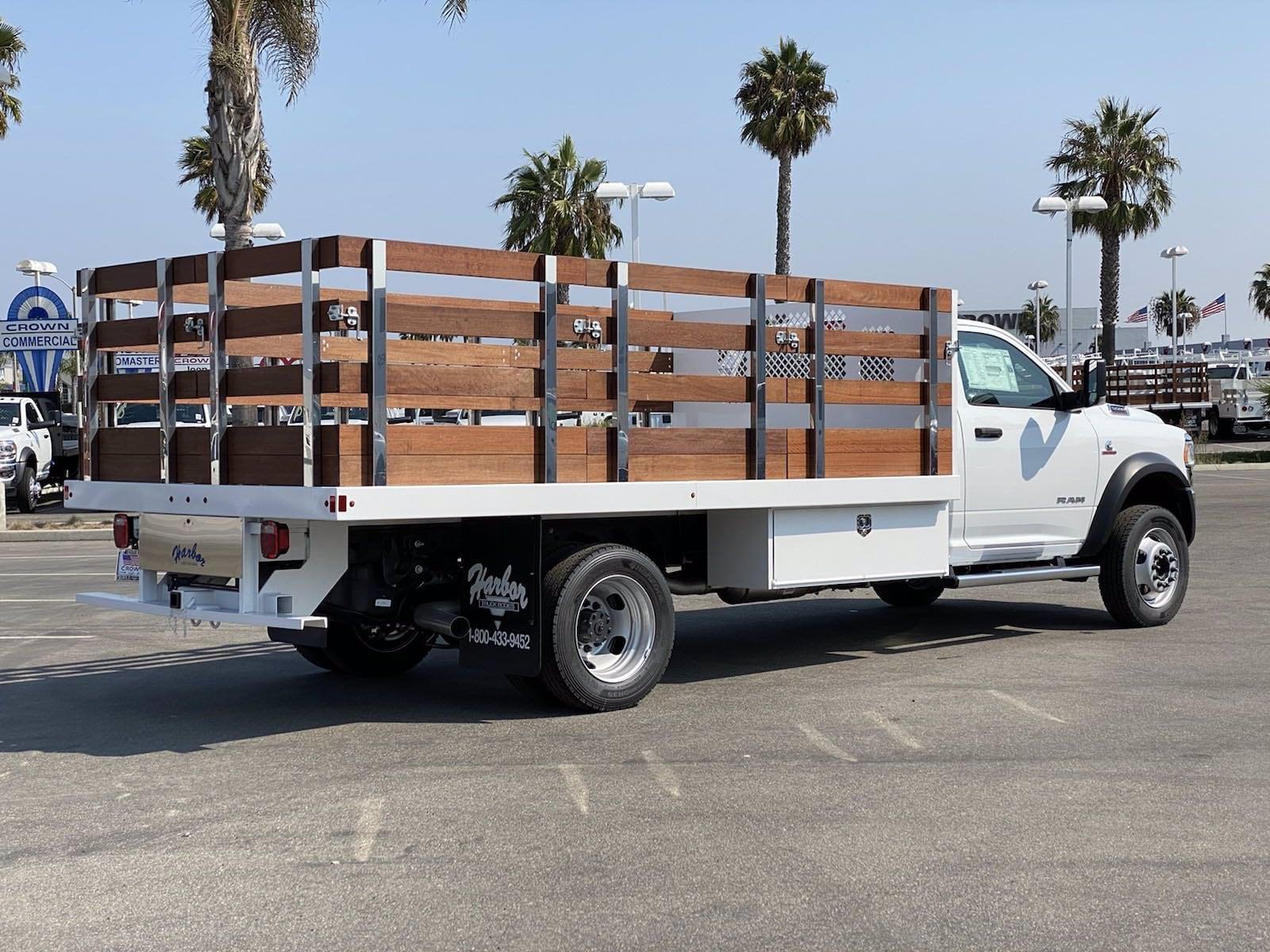2020 Ram 5500 Regular Cab DRW 4x4, Harbor Stake Bed #H2311 - photo 1