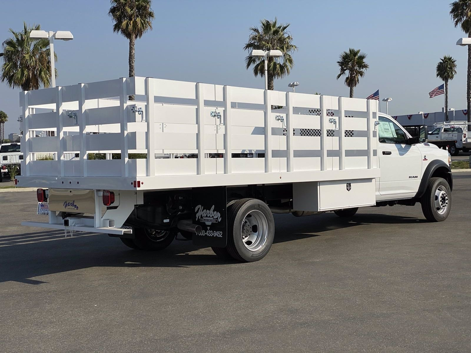 2020 Ram 5500 Regular Cab DRW 4x2, Harbor Platform Body #H2361 - photo 1