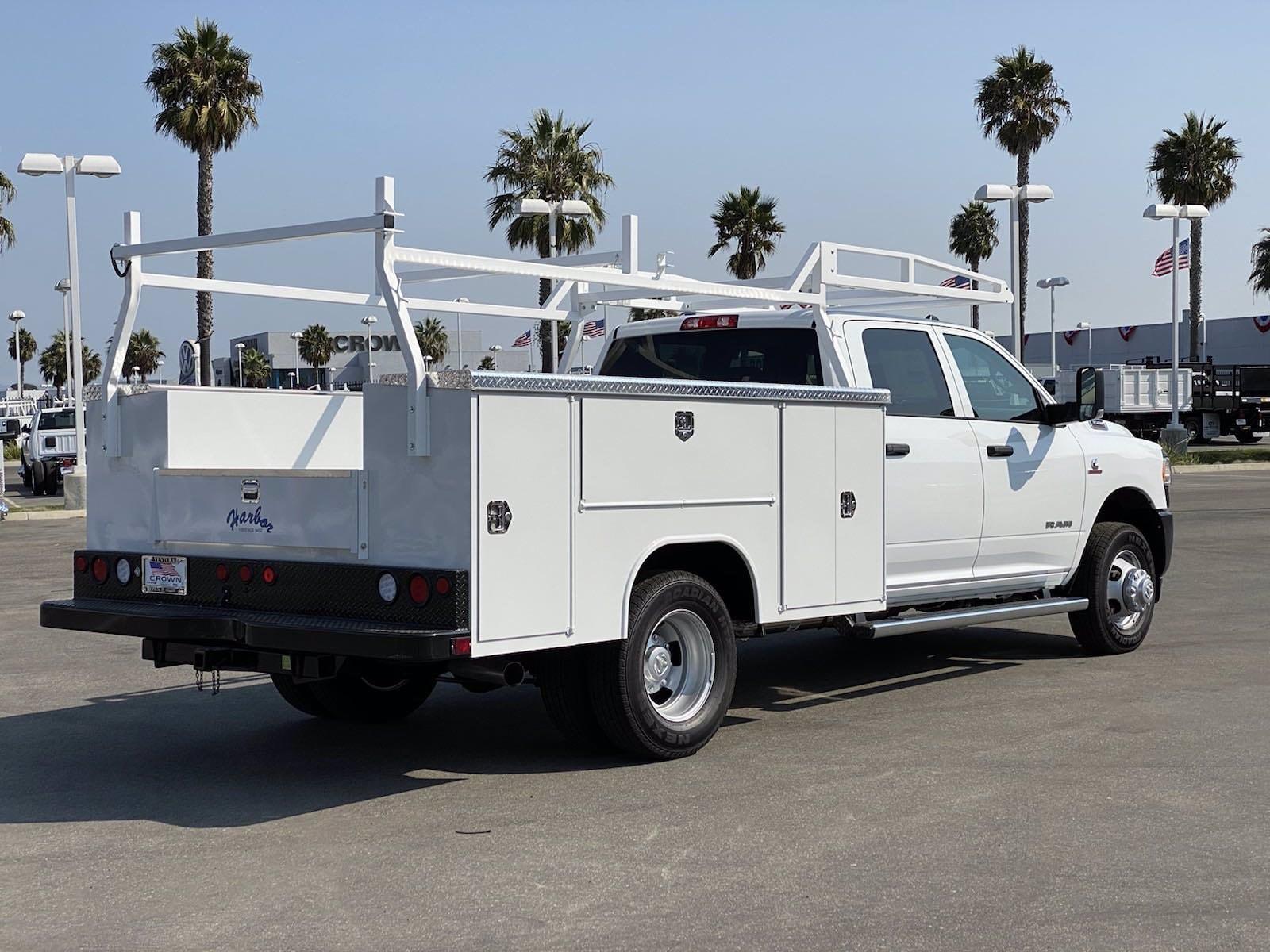 2020 Ram 3500 Crew Cab DRW 4x4, Harbor Service Body #H2362 - photo 1