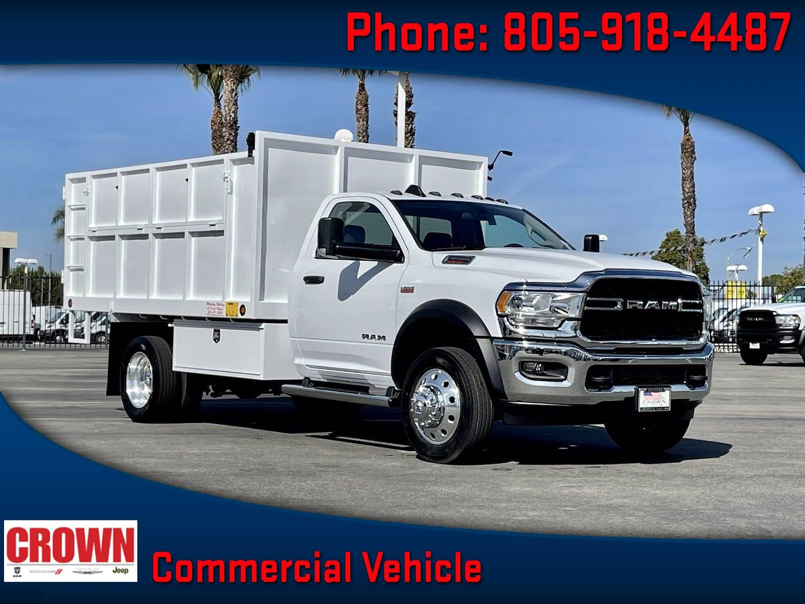 2020 Ram 4500 Regular Cab DRW 4x2, Martinez Welding Landscape Dump #H2503 - photo 1