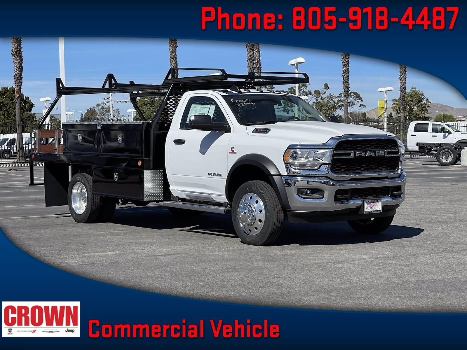 2020 Ram 4500 Regular Cab DRW 4x4, Scelzi Contractor Body #H2591 - photo 1