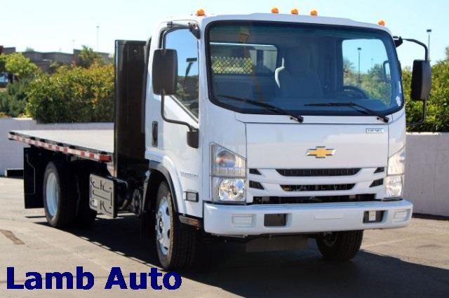 2019 Chevrolet LCF 5500HD Regular Cab RWD, Morgan Platform Body #C900726 - photo 1