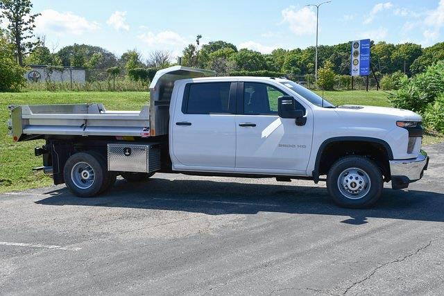 2021 Silverado 3500 Crew Cab 4x4,  Monroe Truck Equipment MTE-Zee Dump Body #27389 - photo 5