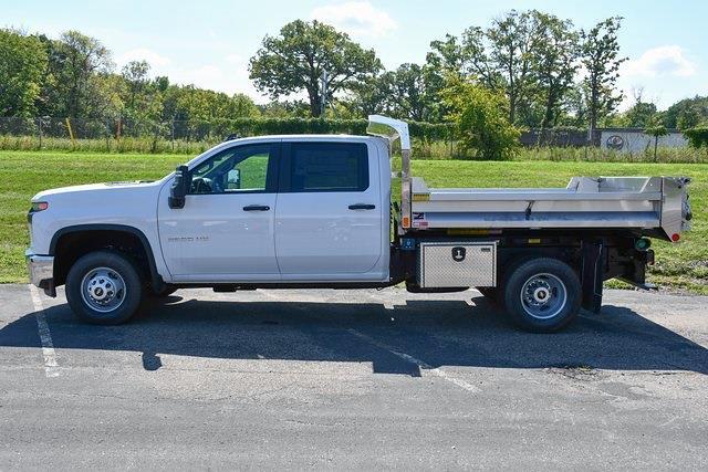 2021 Silverado 3500 Crew Cab 4x4,  Monroe Truck Equipment MTE-Zee Dump Body #27389 - photo 8
