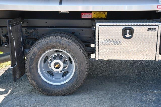 2021 Silverado 3500 Crew Cab 4x4,  Monroe Truck Equipment MTE-Zee Dump Body #27389 - photo 9