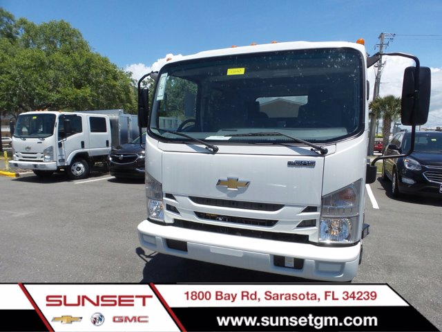 2019 Chevrolet LCF 3500 Crew Cab RWD, Premier Truck Center Stake Bed #C01463 - photo 1