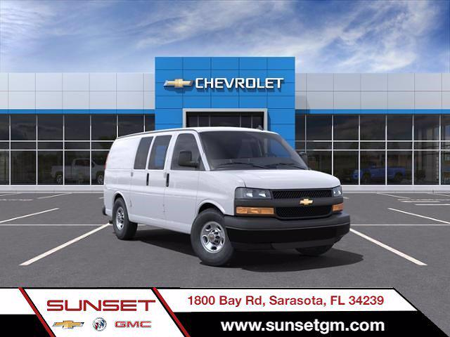 2021 Chevrolet Express 2500 4x2, Masterack Upfitted Cargo Van #C04327 - photo 1