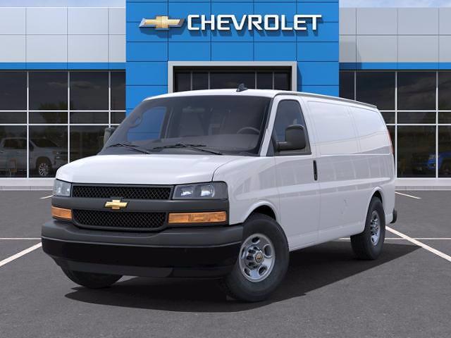 2021 Chevrolet Express 2500 4x2, Masterack General Service Upfitted Cargo Van #C04327 - photo 6