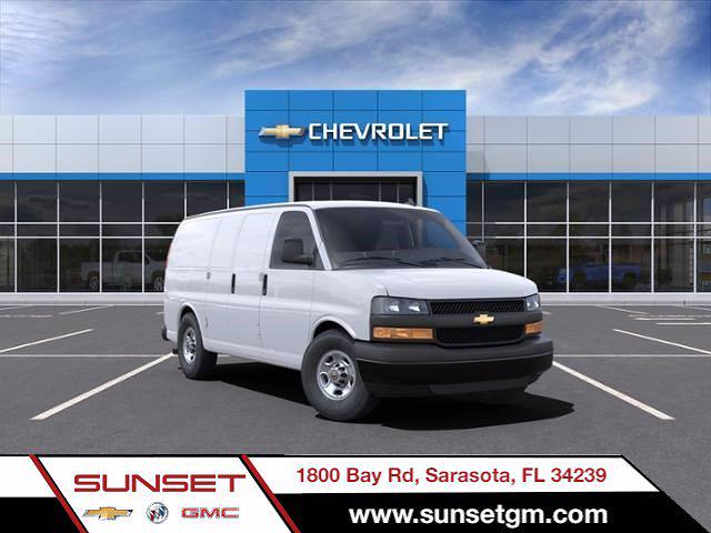 2021 Chevrolet Express 2500 4x2, Masterack Upfitted Cargo Van #C04343 - photo 1